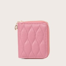 Quilted Zip Around Purse (swbag18200623085) photo