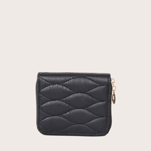 Quilted Zip Around Purse (swbag18200623573) photo