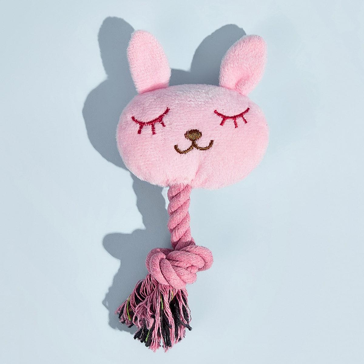 1шт звуковая игрушка в форме кролика