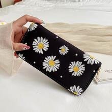 Daisy Zip Around Purse (rwbag18200628561) photo