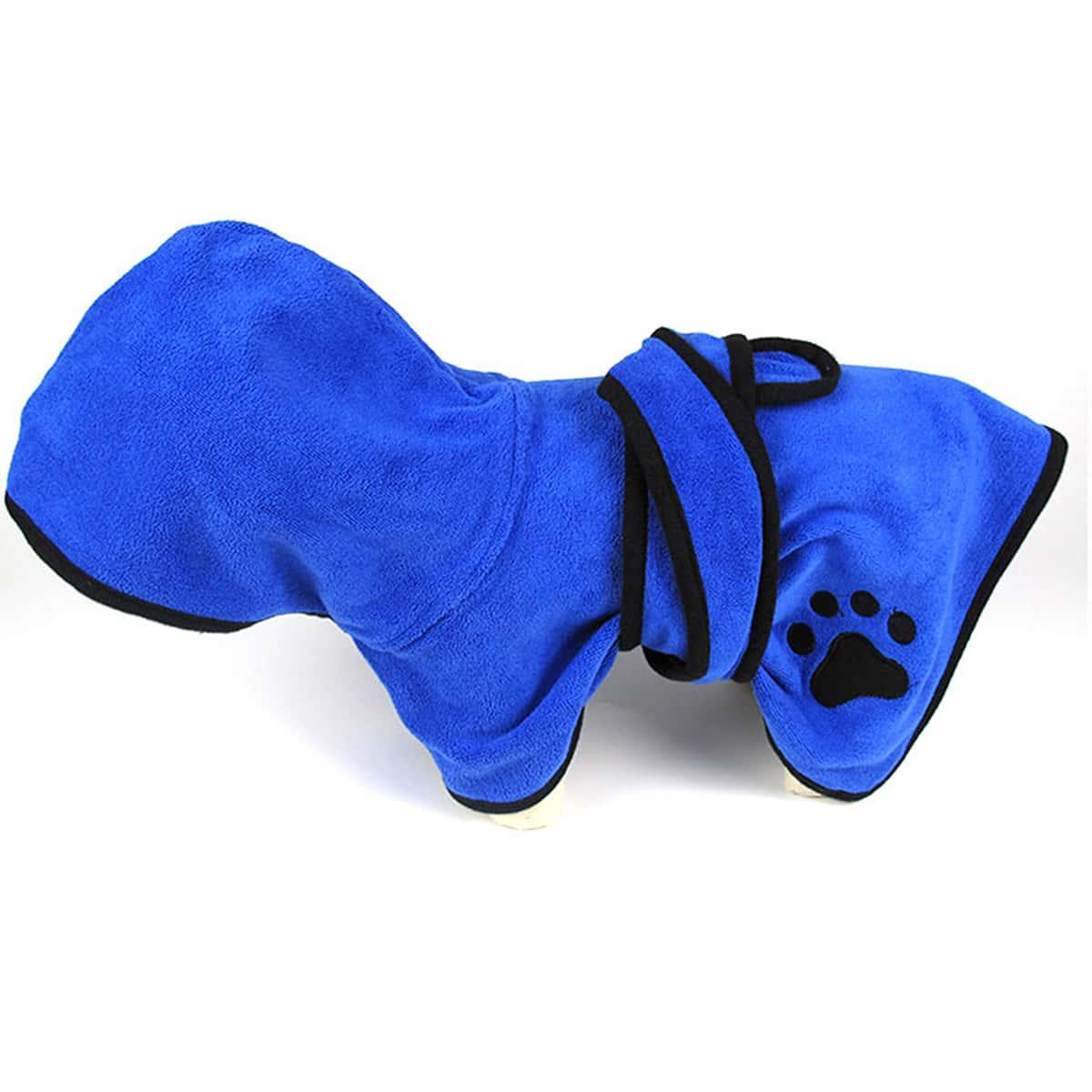 Махровый халат для собак 1шт