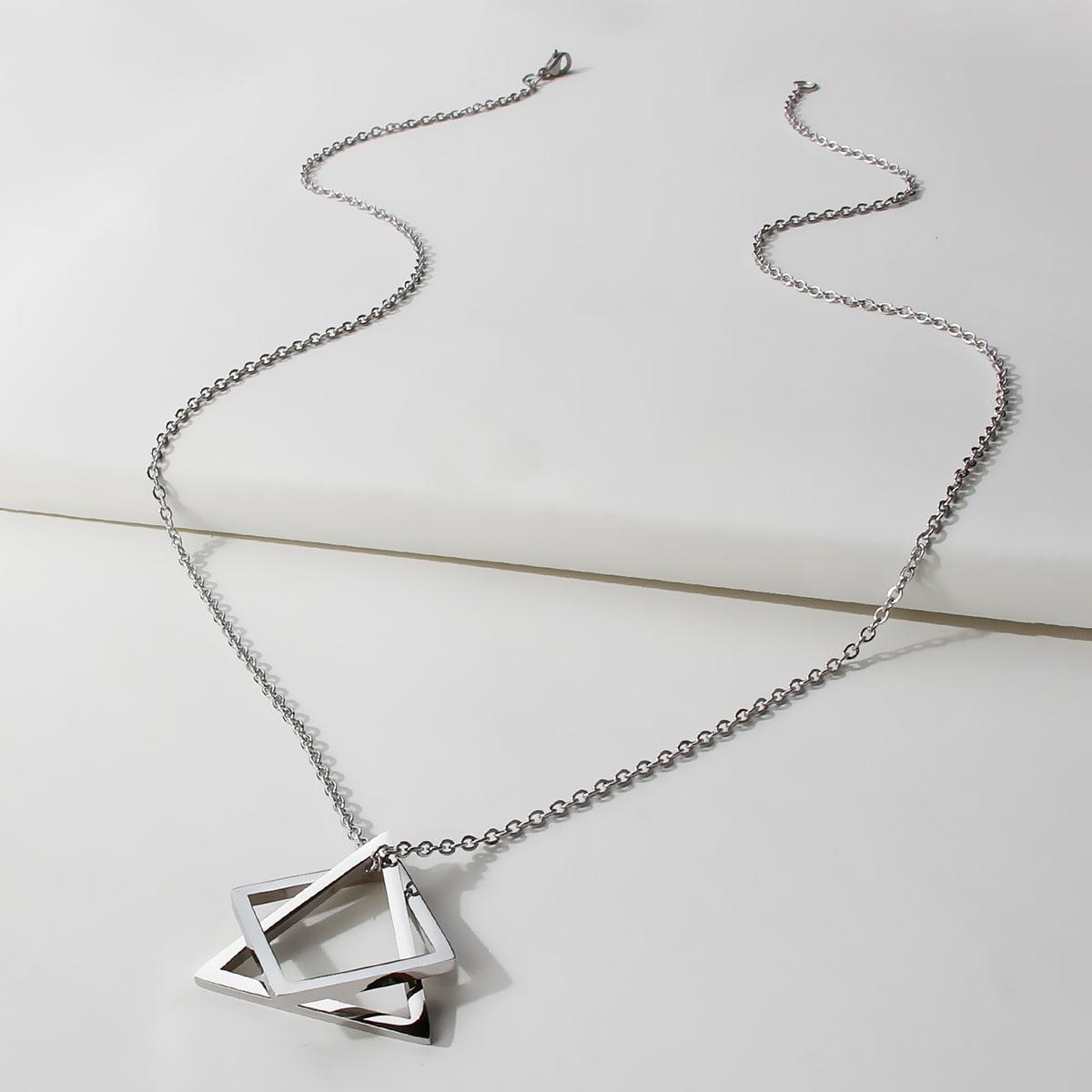 Мужское геометрическое ожерелье от SHEIN