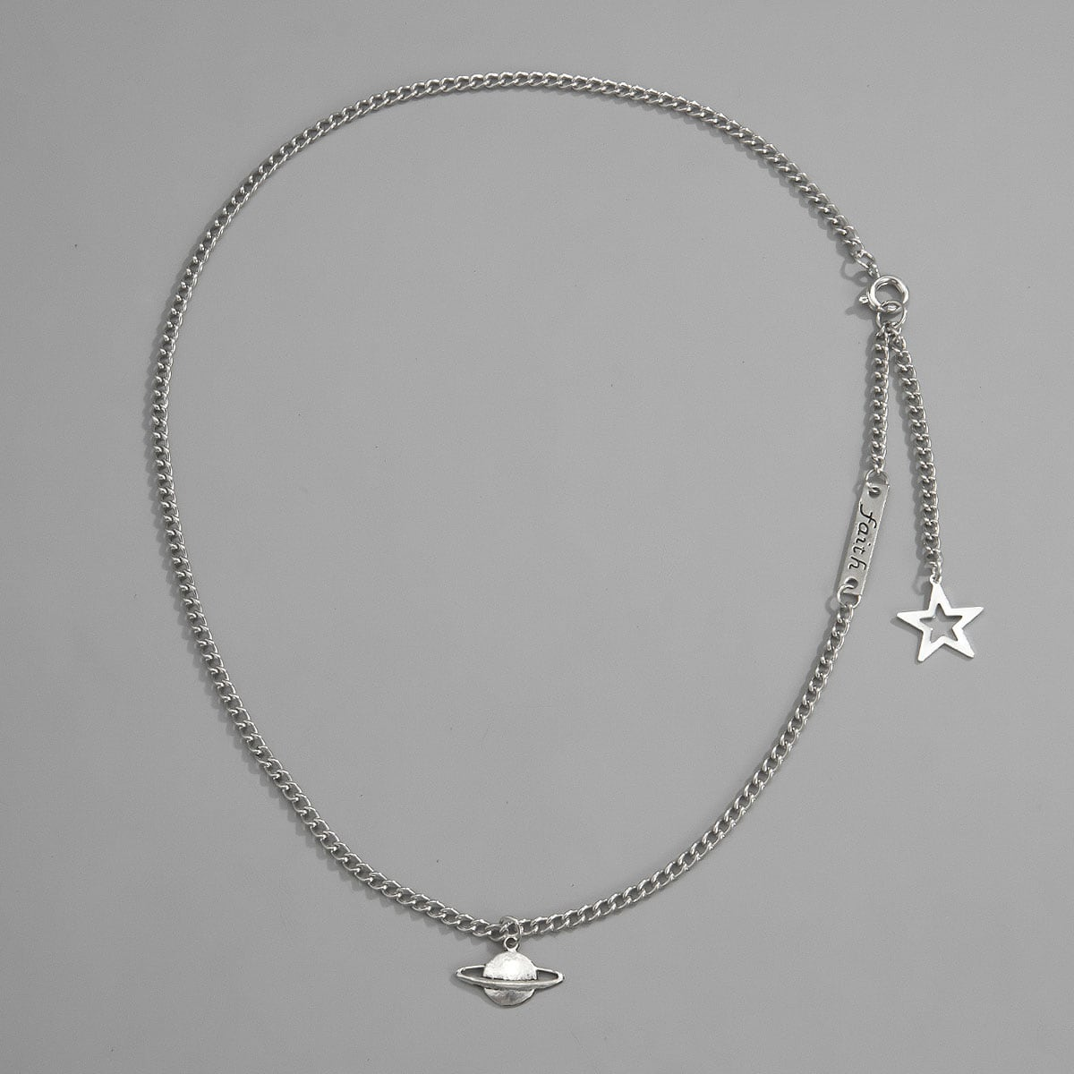 Мужское ожерелье с звездой от SHEIN