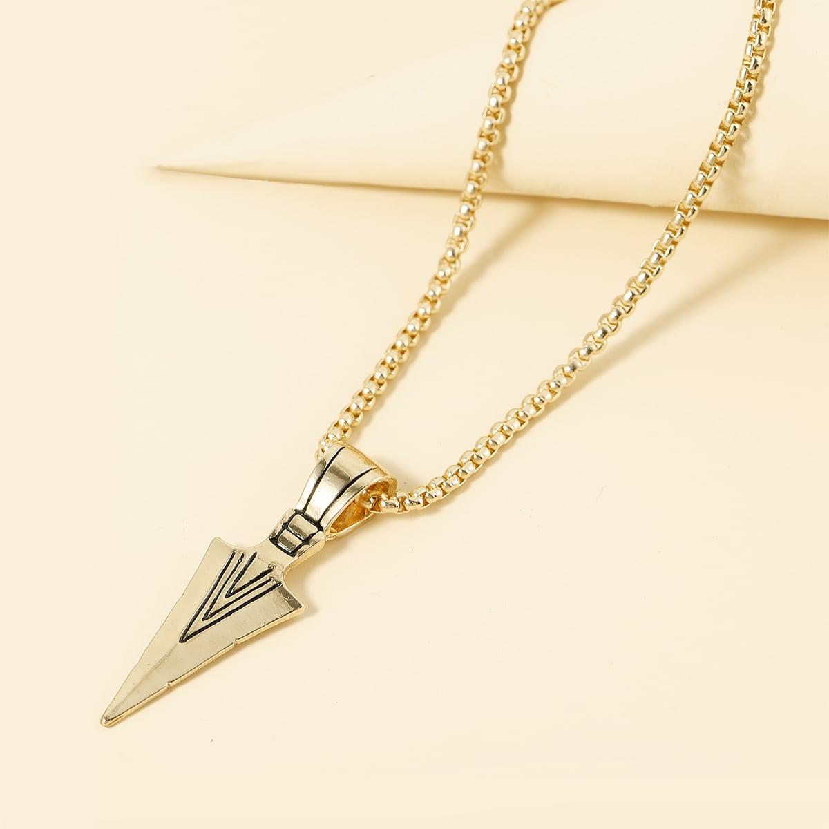 Мужское ожерелье с геометрическим декором от SHEIN