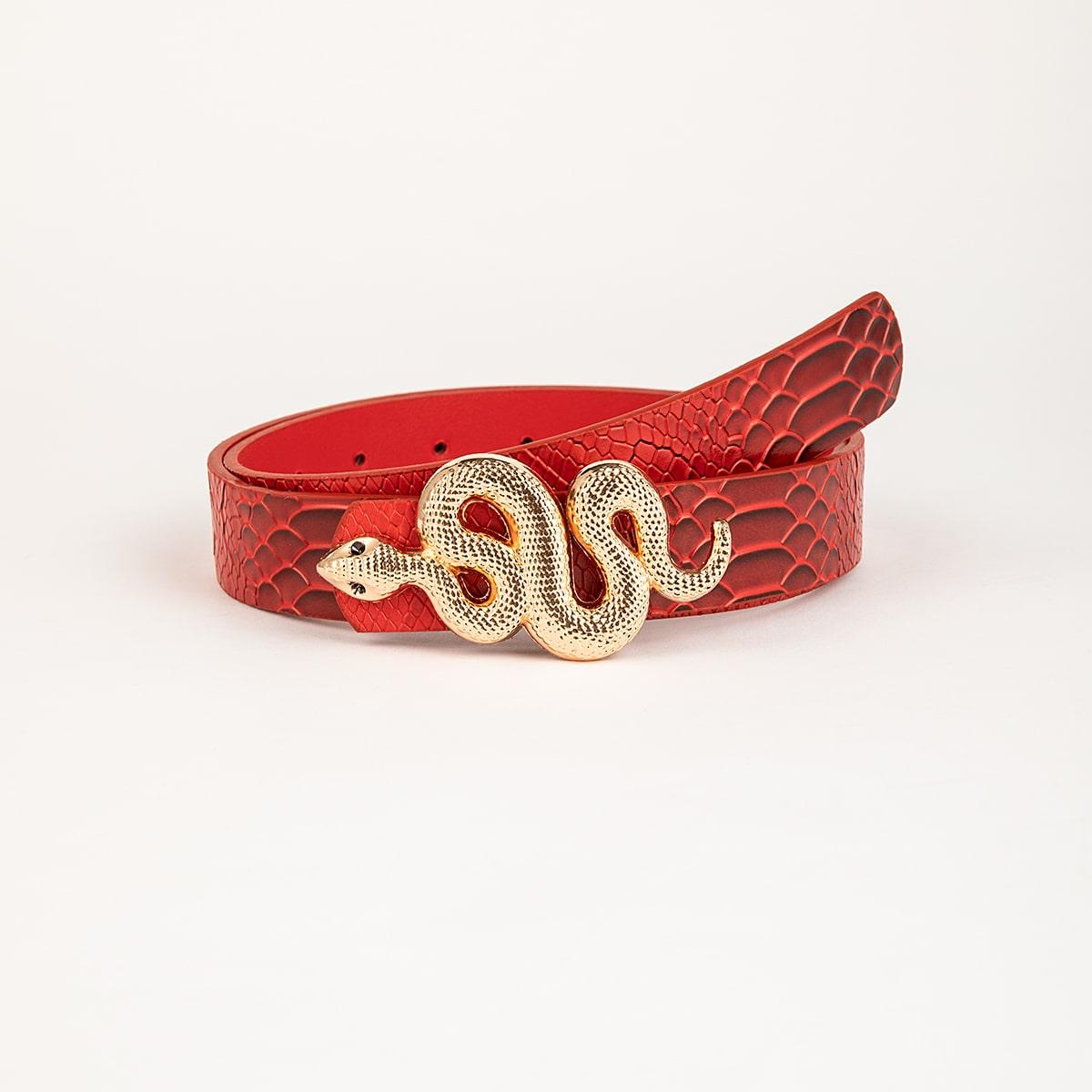 SHEIN / Gürtel mit Serpentin Dekor