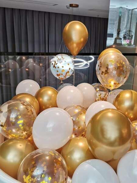 15pcs Holiday Decorative Balloon Set