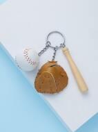 Baseball Set  Key Chain