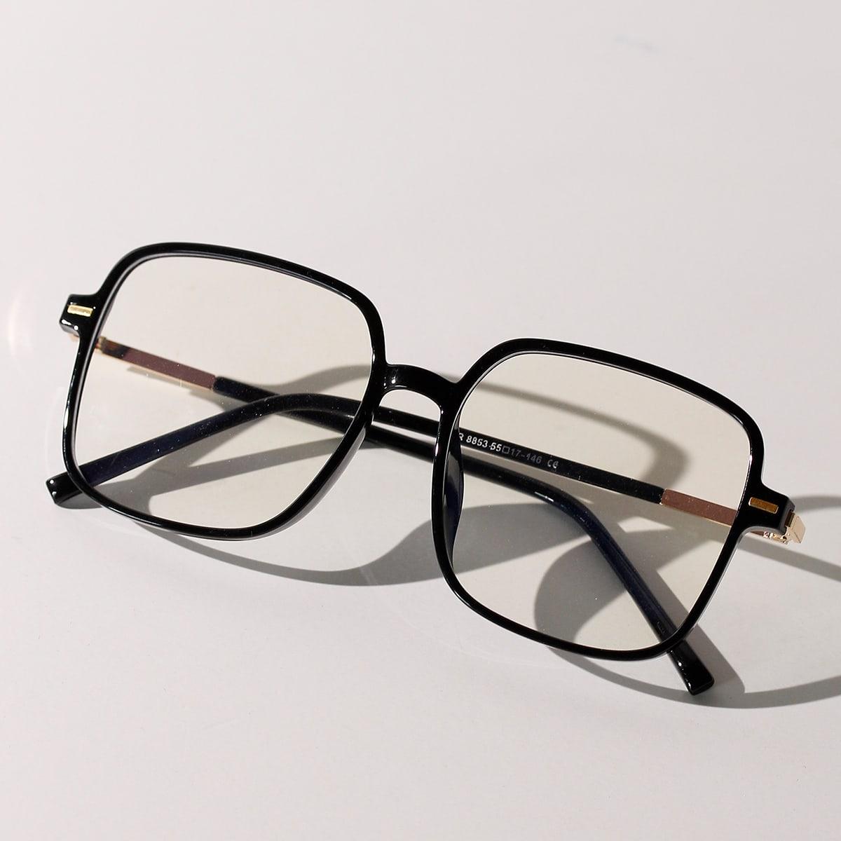 Квадратные анти синие светлые компьютерные очки
