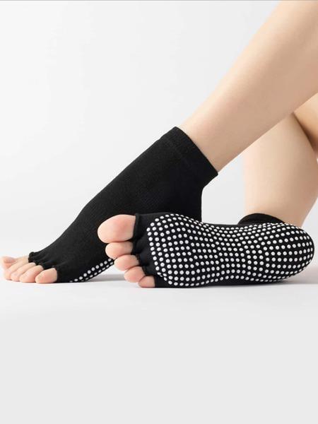 1pair Yoga Five Finger Socks