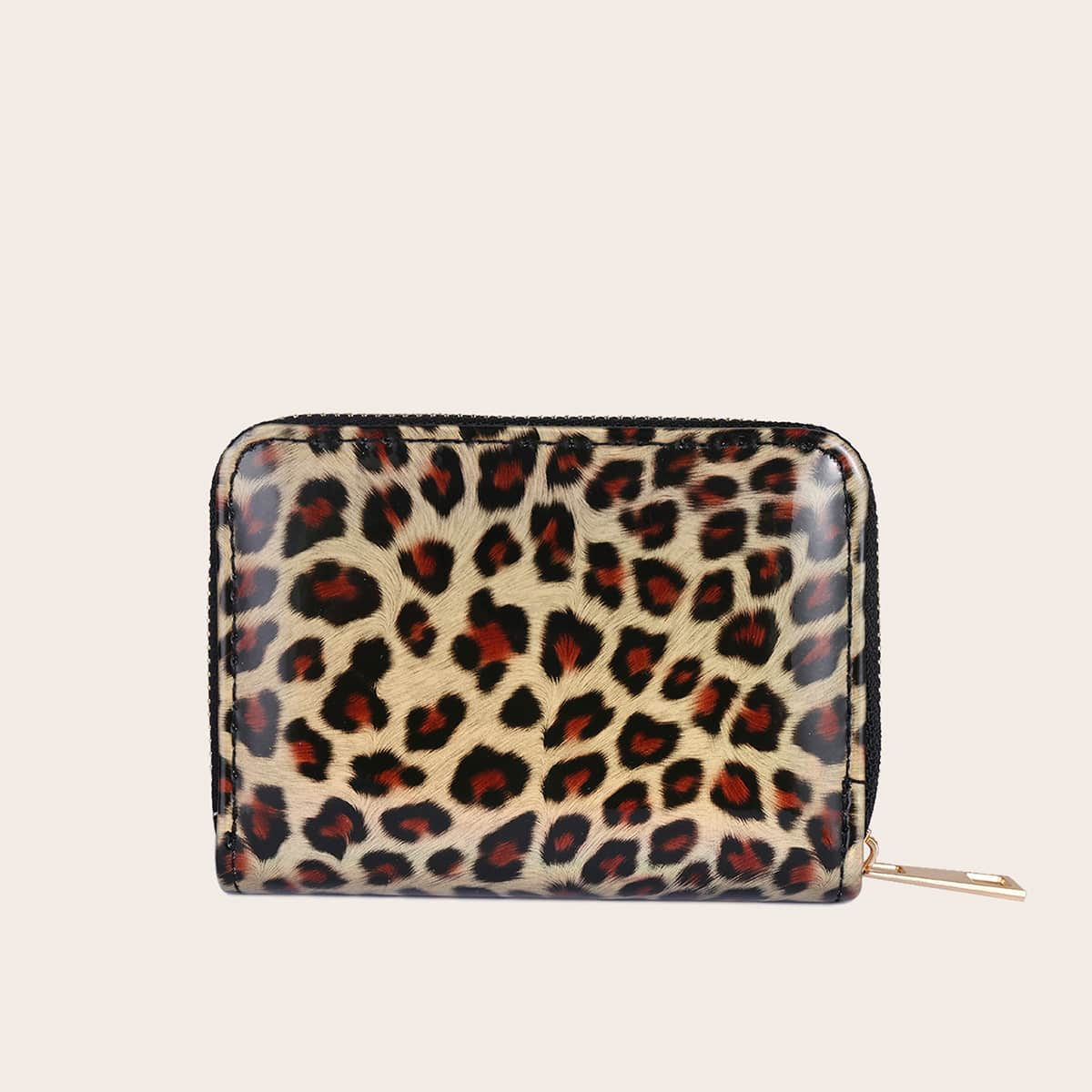 Leopard Zip Around Purse (swbag18200706949) photo