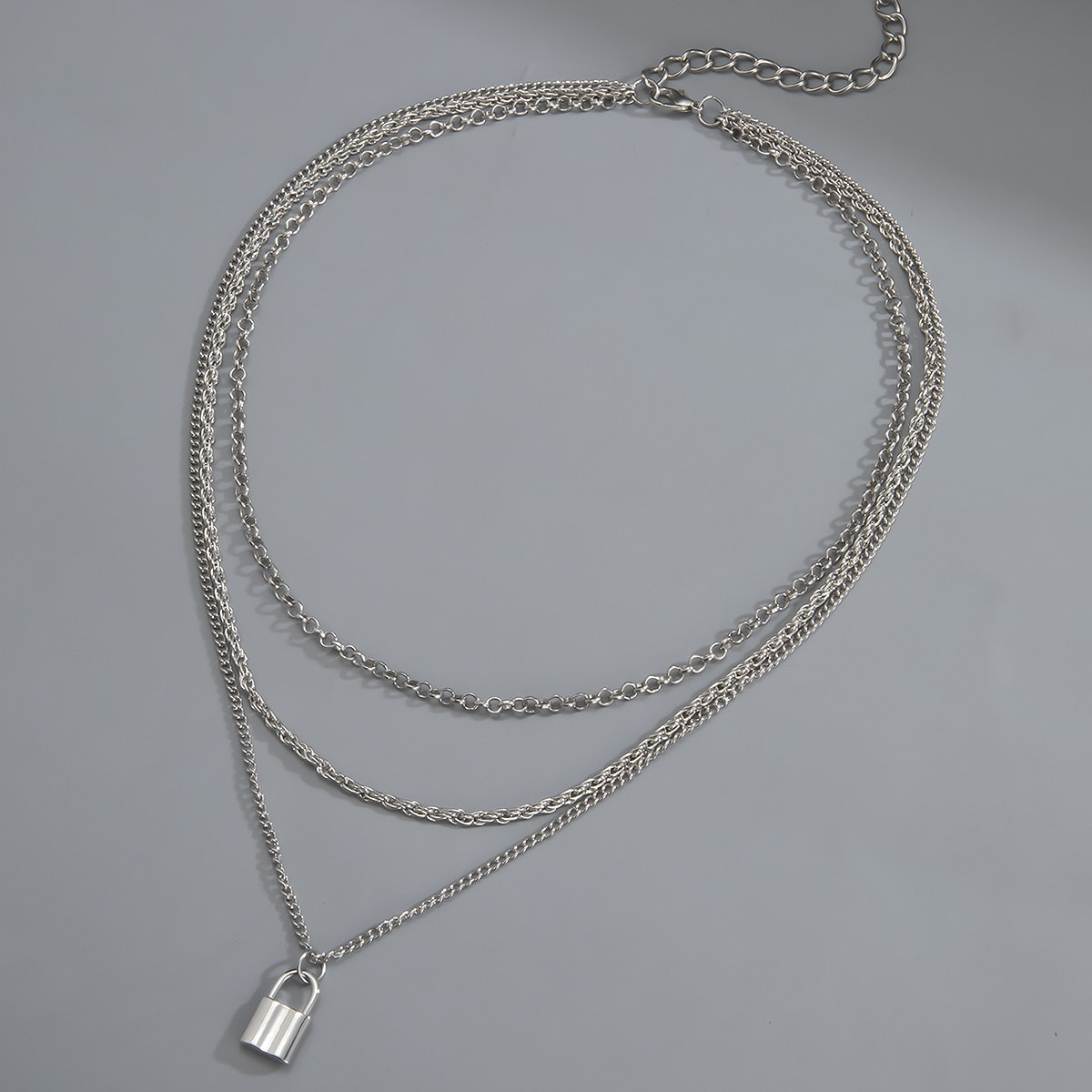 Мужское многослойное ожерелье от SHEIN