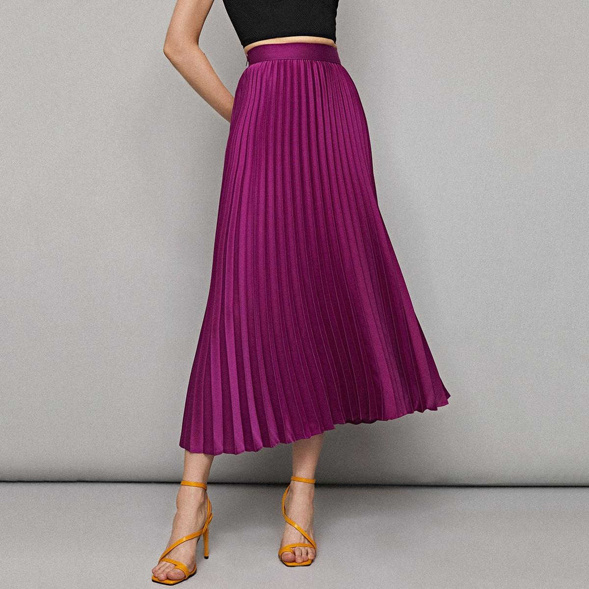 Плиссированная юбка фото