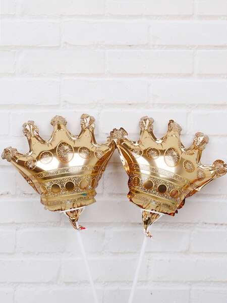 10pcs Crown Shaped Balloon