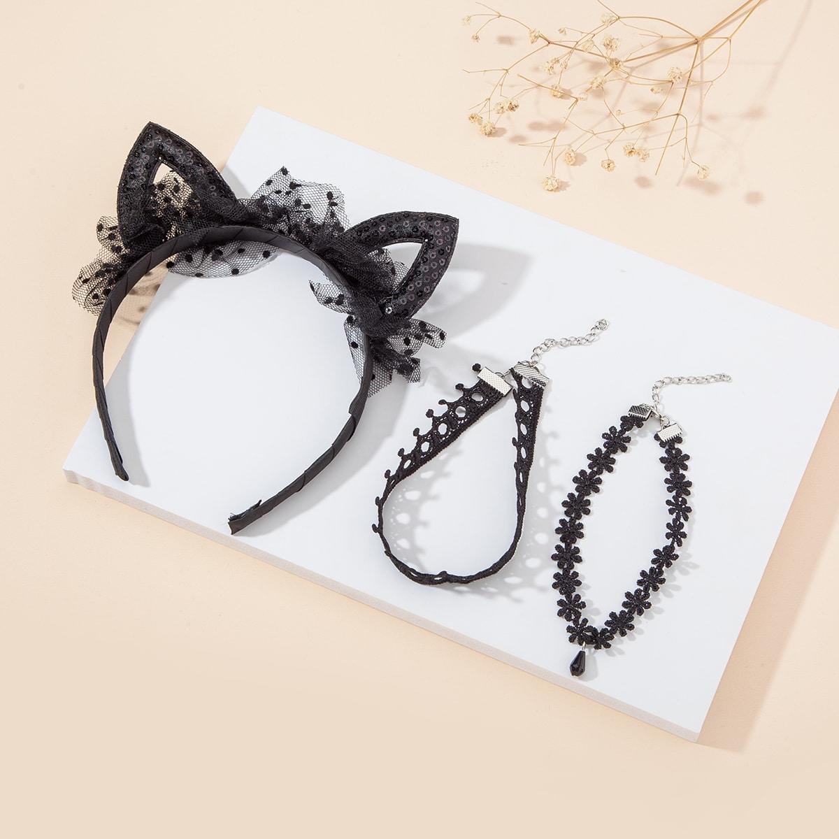 3шт аксессуар для волос и девочек фото
