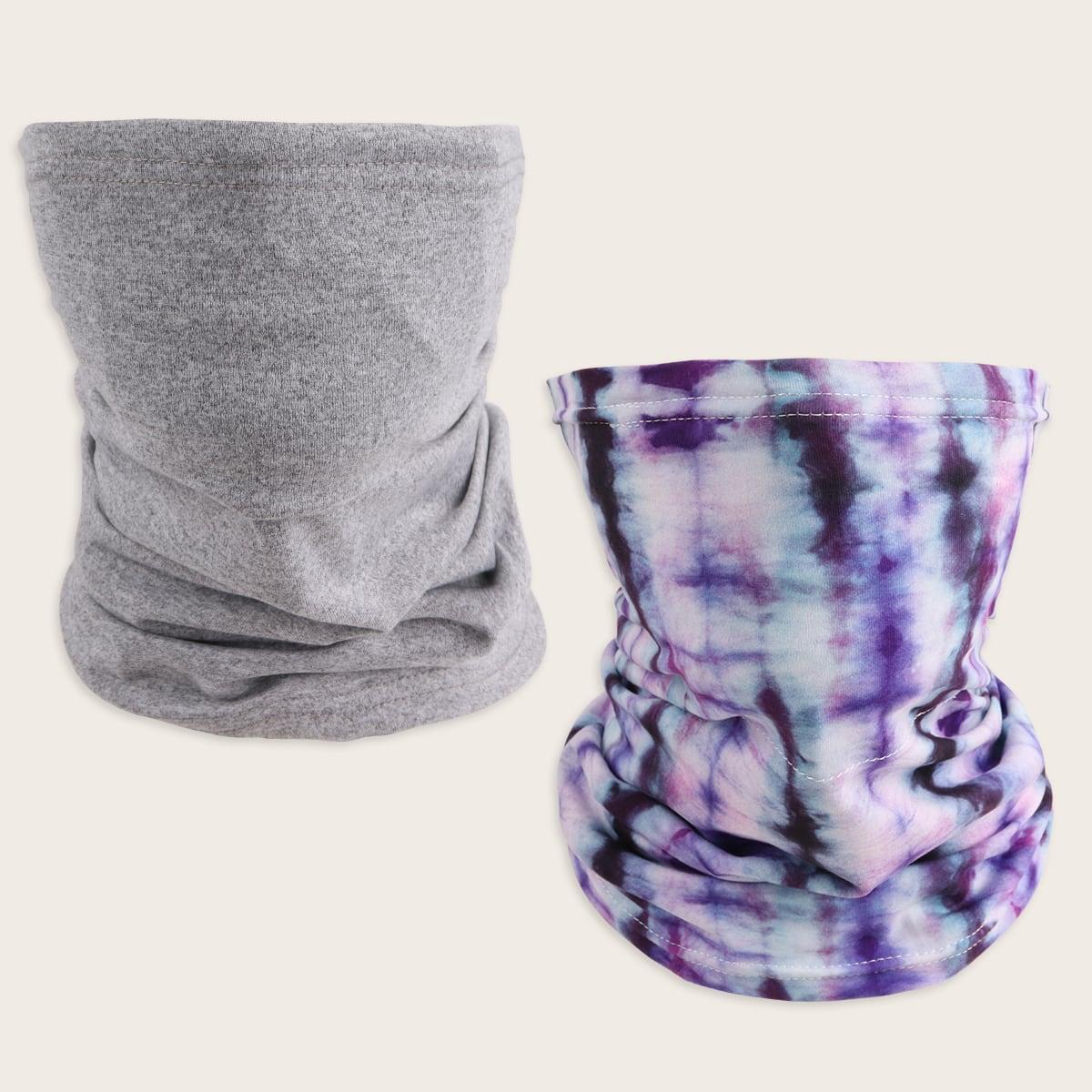 2шт шарф с принтом
