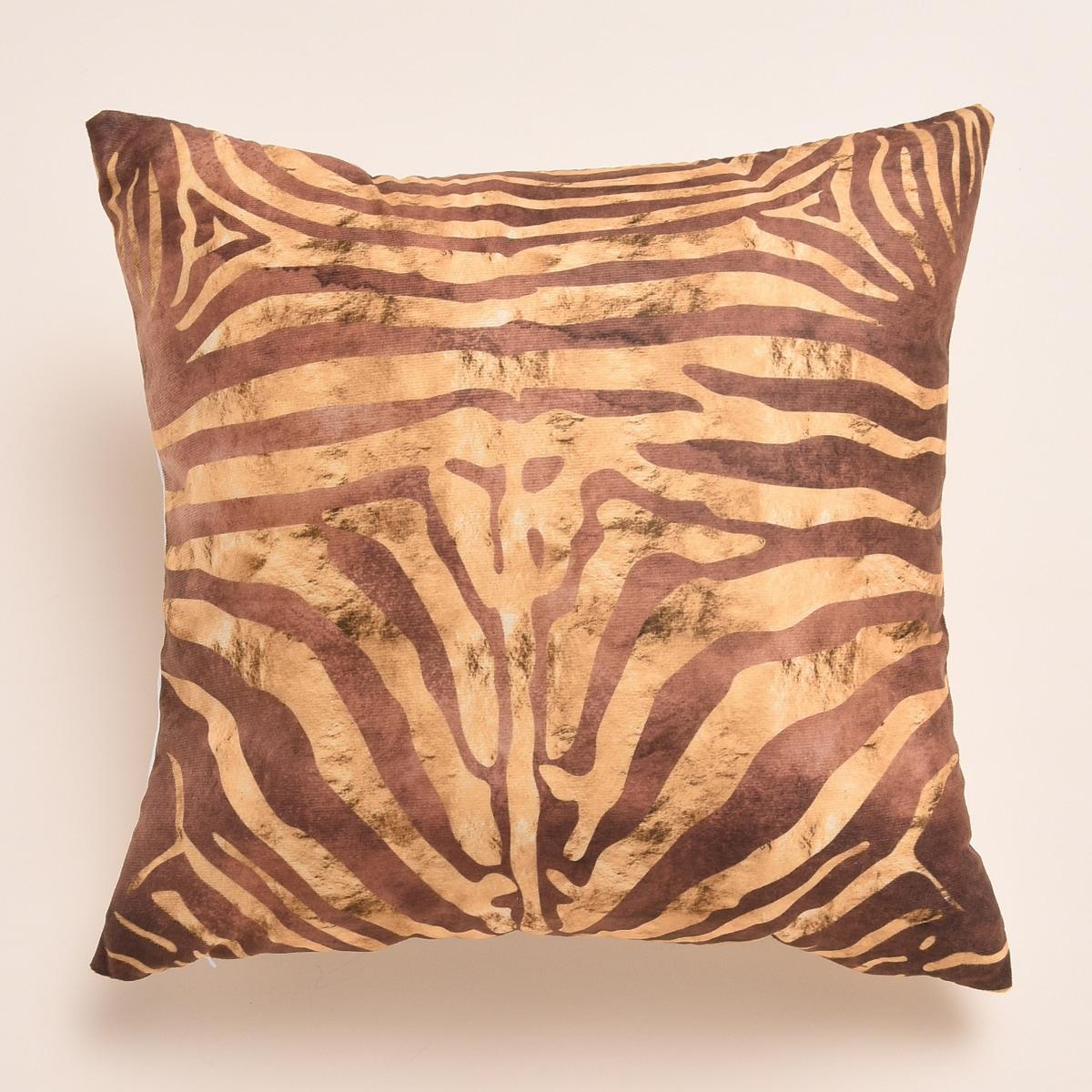 Чехол для подушки с графическим принтом без наполнителя фото