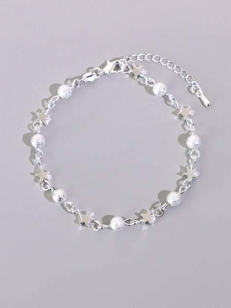 Star & Ball Decor Bracelet
