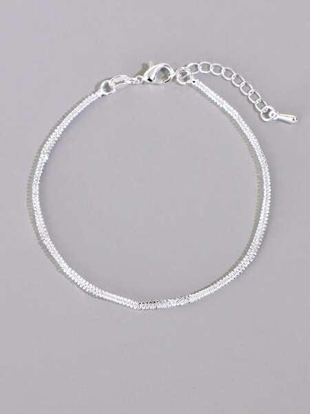Simple Solid Bracelet