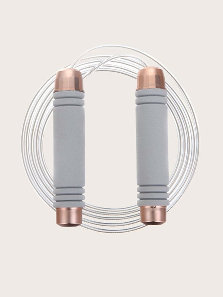 1pc Two Tone Handle Skipping Rope