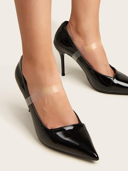 1pair Transparent Invisible Shoe Strap