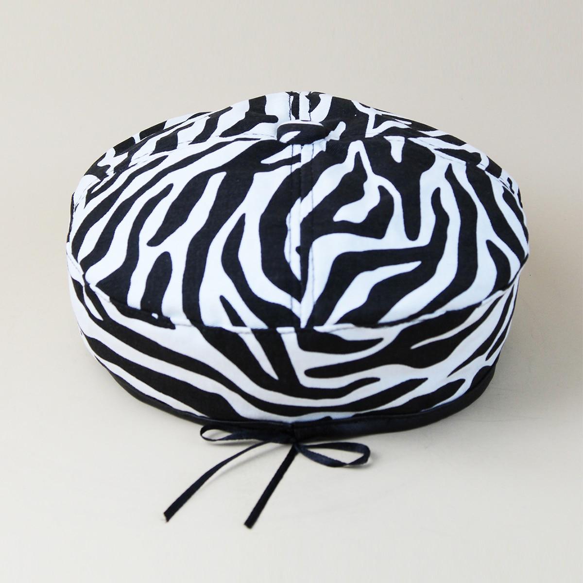 Берет с рисунком зебры от SHEIN