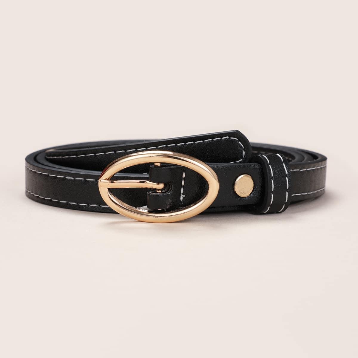 SHEIN / Gürtel mit Oval Schnalle