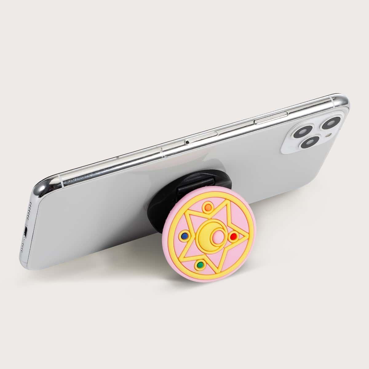 Мультипликационная Складный держатель для телефона 1шт фото