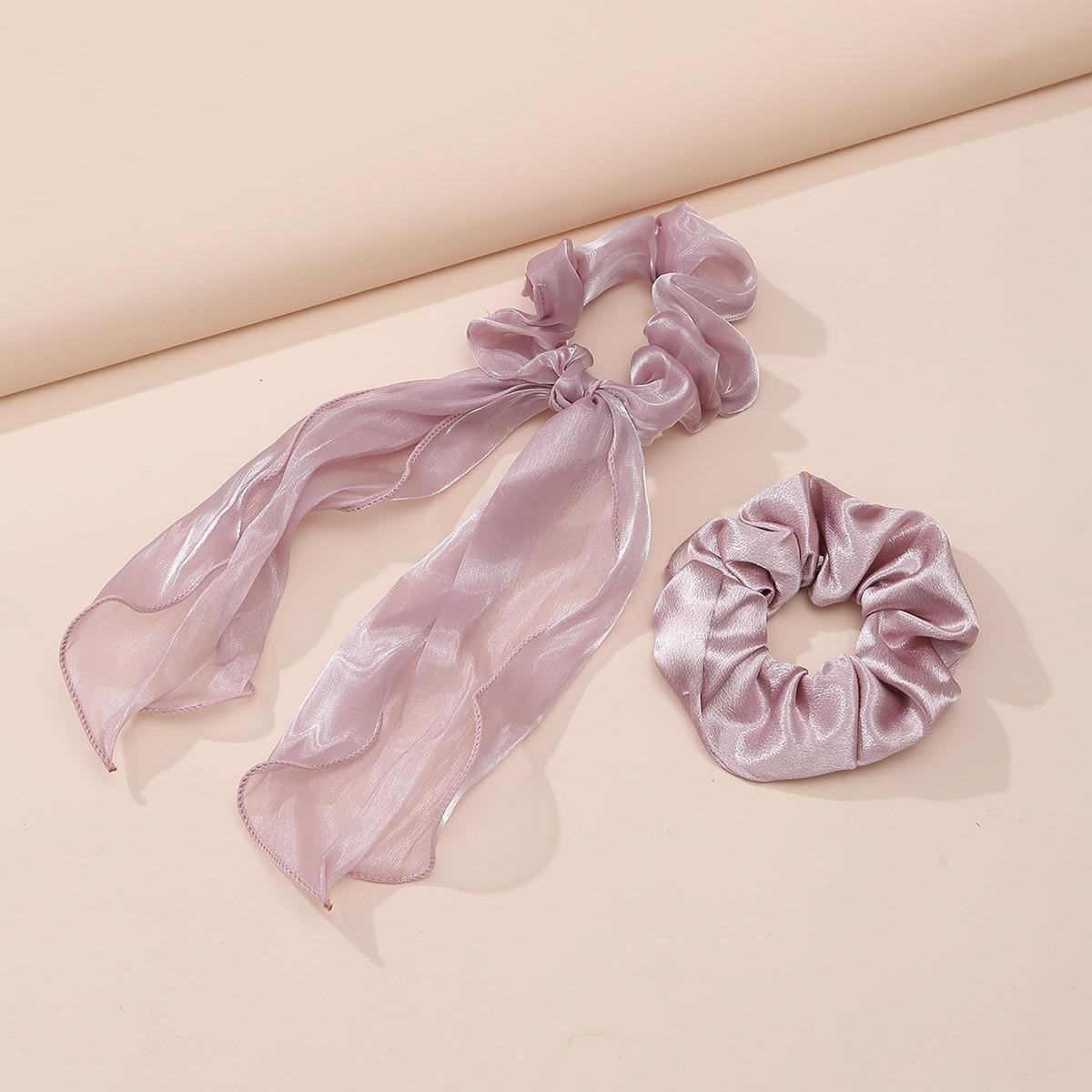 Резинка для волос 1шт и шарф для волос 1шт от SHEIN