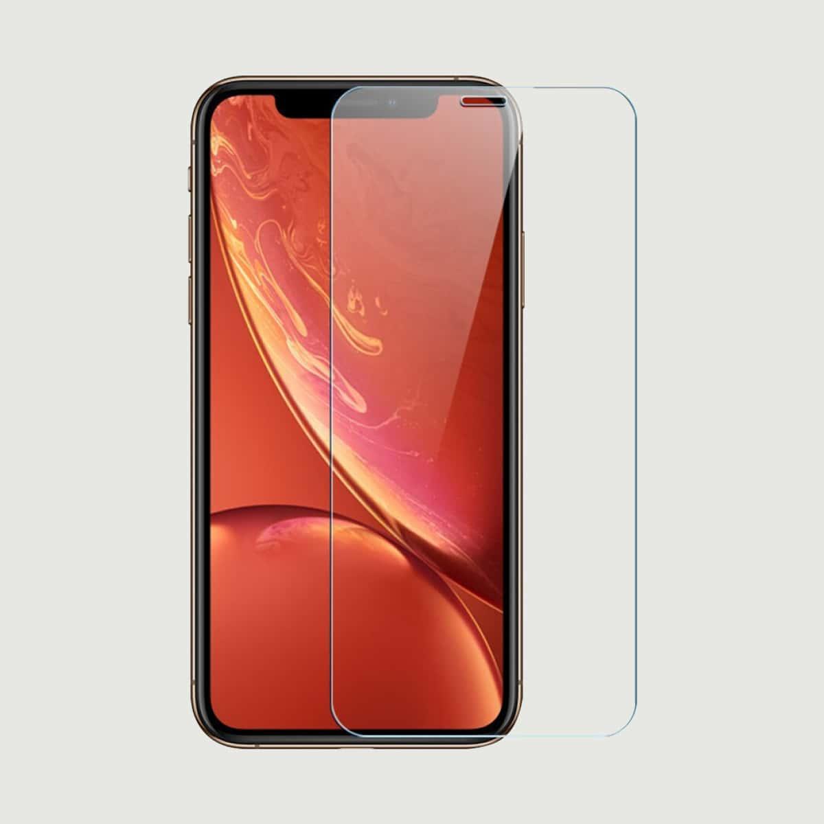 Защитная пленка для iPhone из закаленного стекла 1шт фото