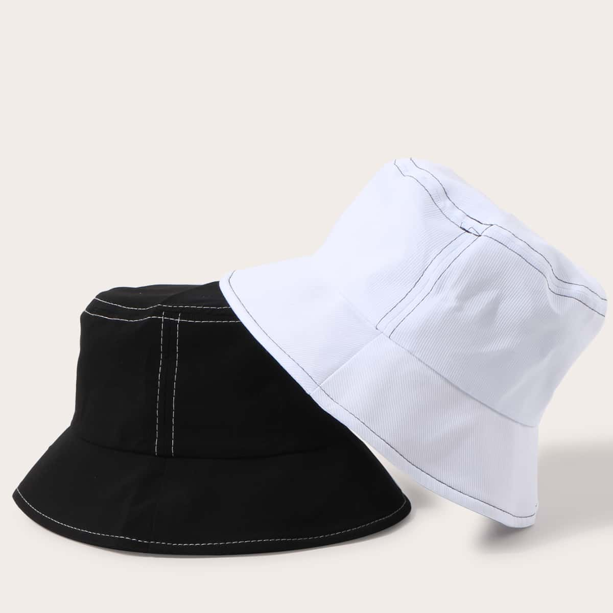 Мужская шляпа 2шт от SHEIN