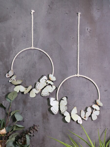 1pc Butterfly Design Wall Decor