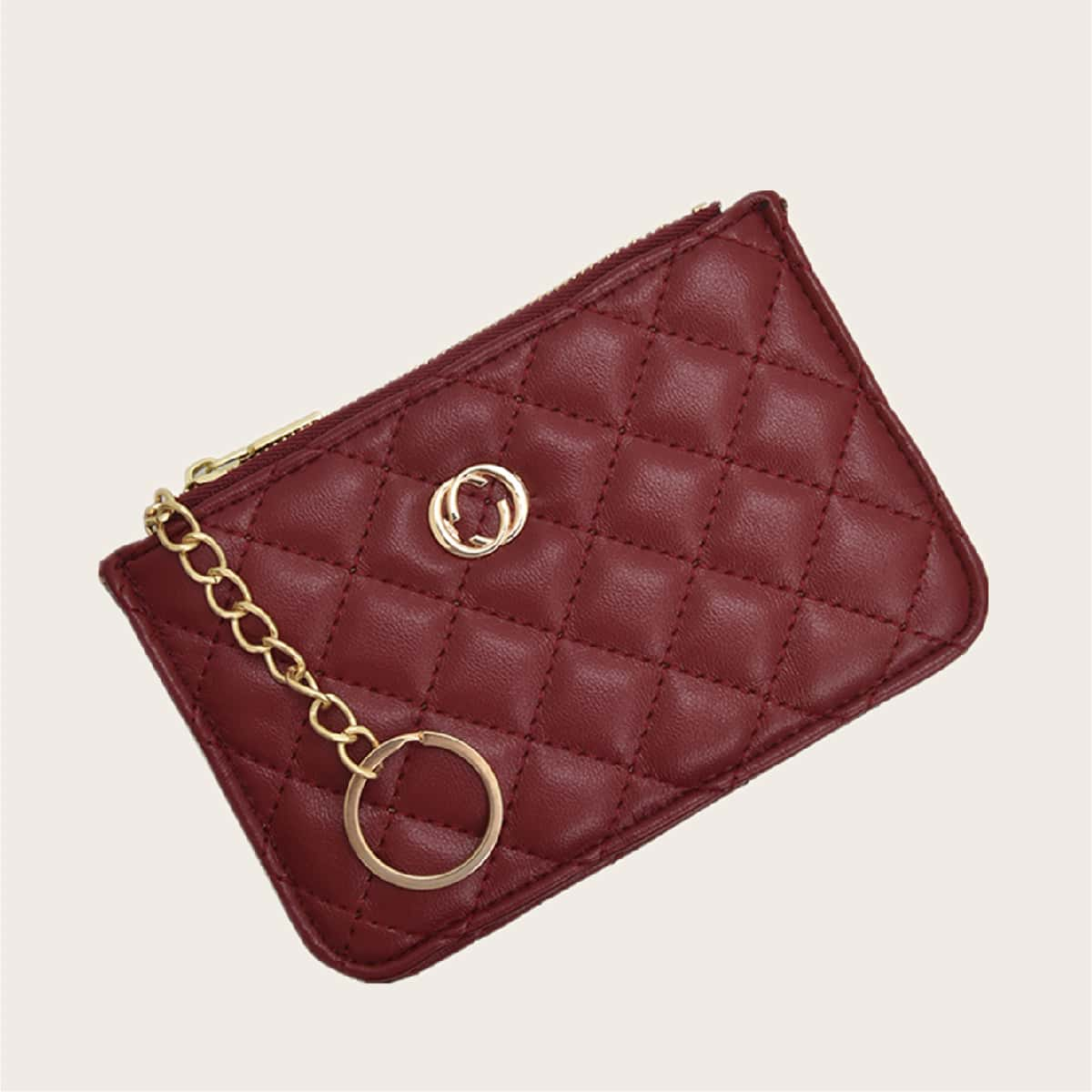 Metal Decor Quilted Purse (swbag18200713428) photo