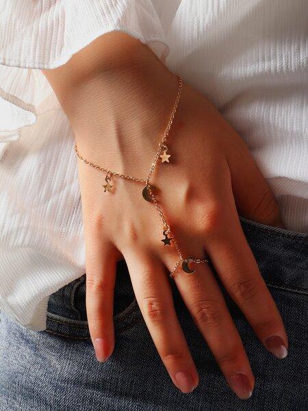 Star Decor Mittens Bracelet