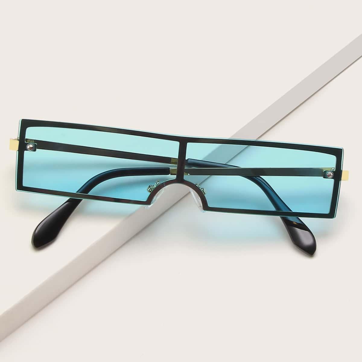 Солнцезащитные очки с плоским верхом фото