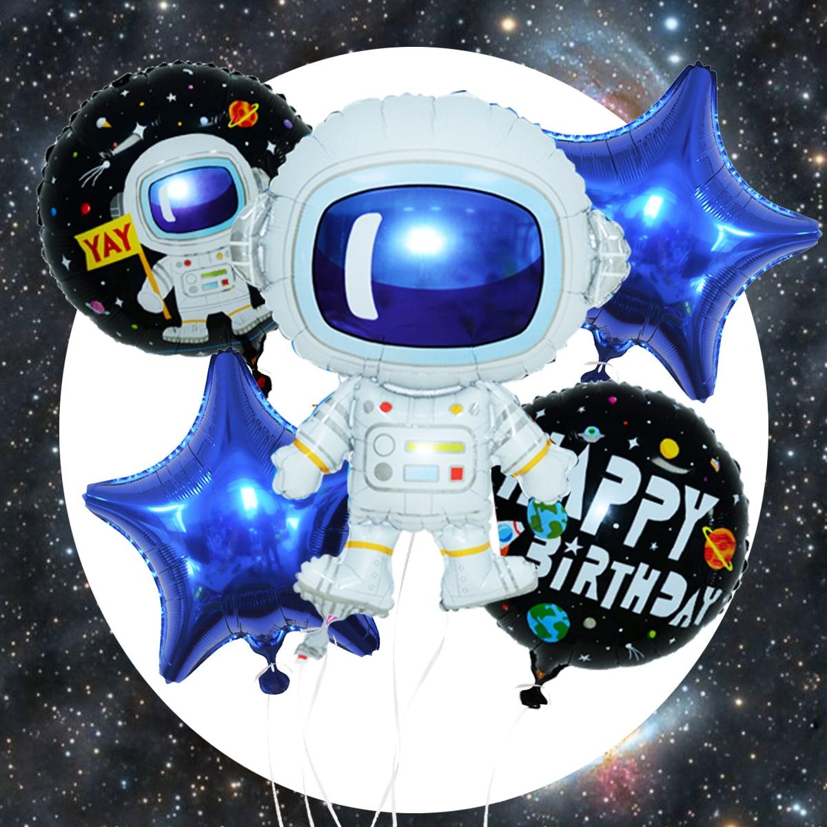 Воздушный шар в форме астронавта 7шт