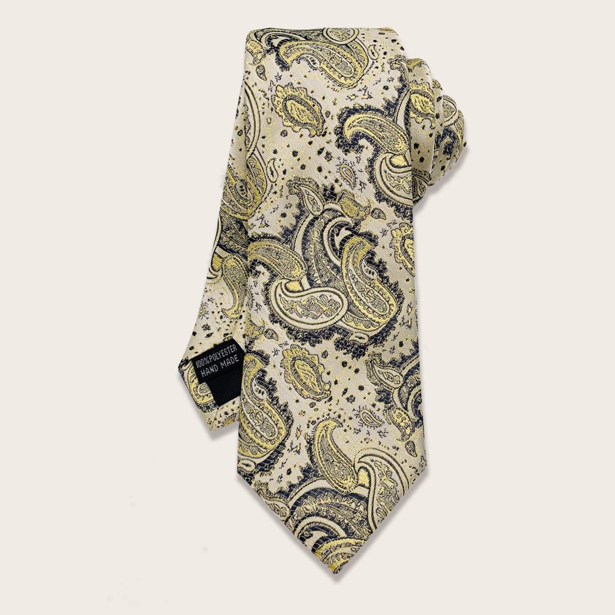 Мужской галстук с оригинальным узором фото