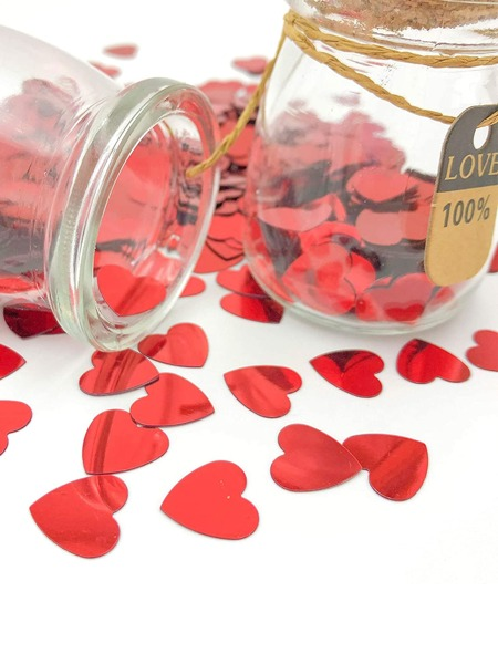 1pack Heart Shaped Throwing Confetti
