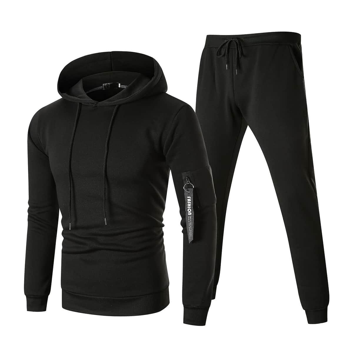 Мужские спортивные брюки и толстовка с молнией от SHEIN