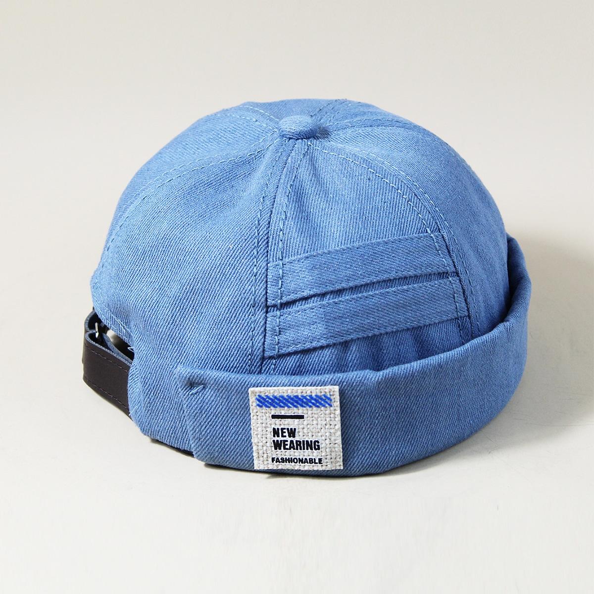 Мужская шляпа с текстовой заплатой от SHEIN