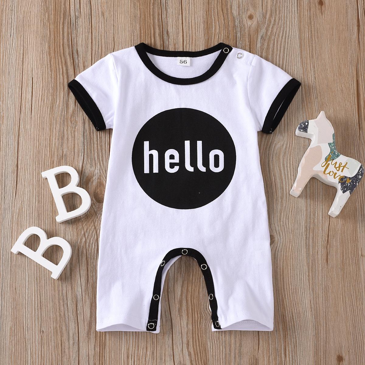 Комбинезон-футболка с текстовым принтом для мальчиков от SHEIN