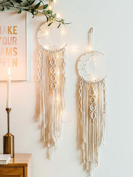 1pc Braided Wall Decor Without Light