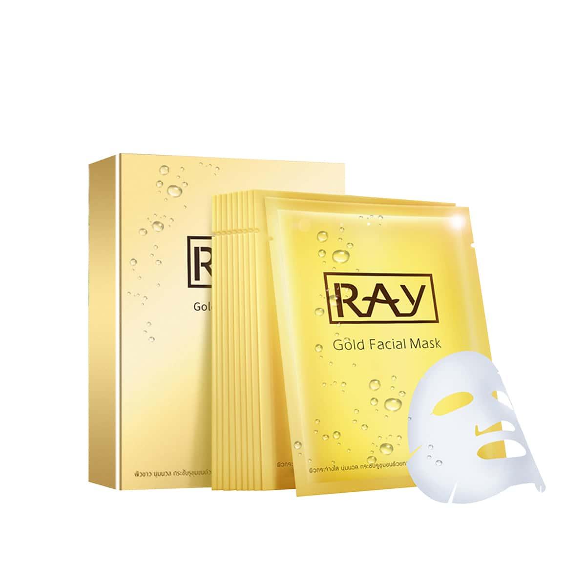 10 piezas RAY de THAILAND mascarilla facial hidratante de suero
