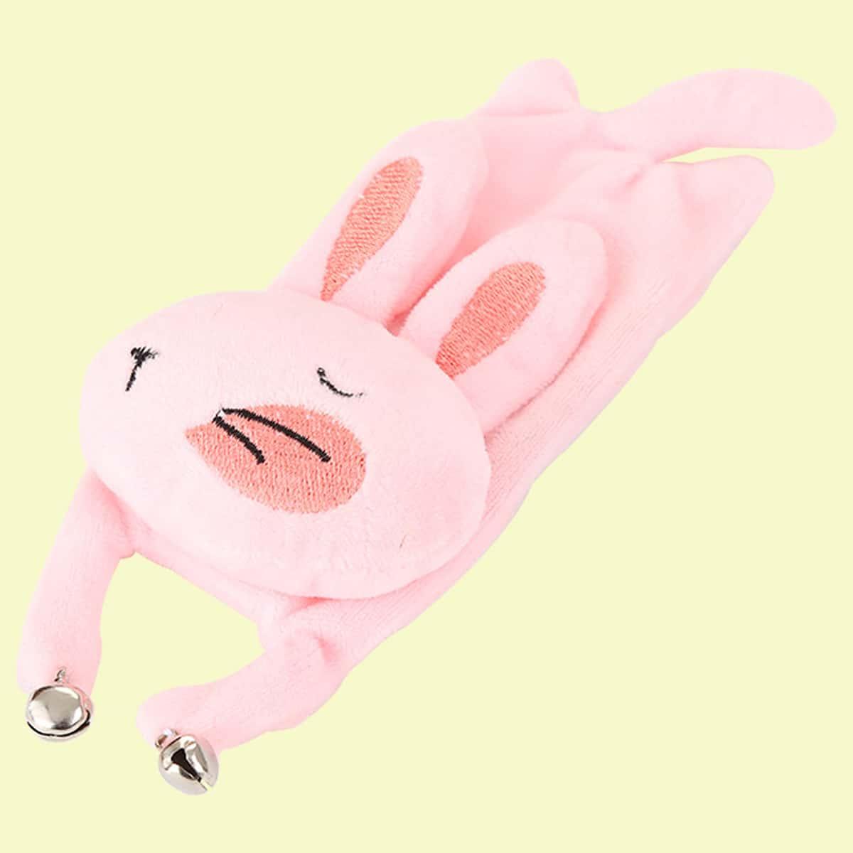 Игрушка для кошки в форме кролика 1шт