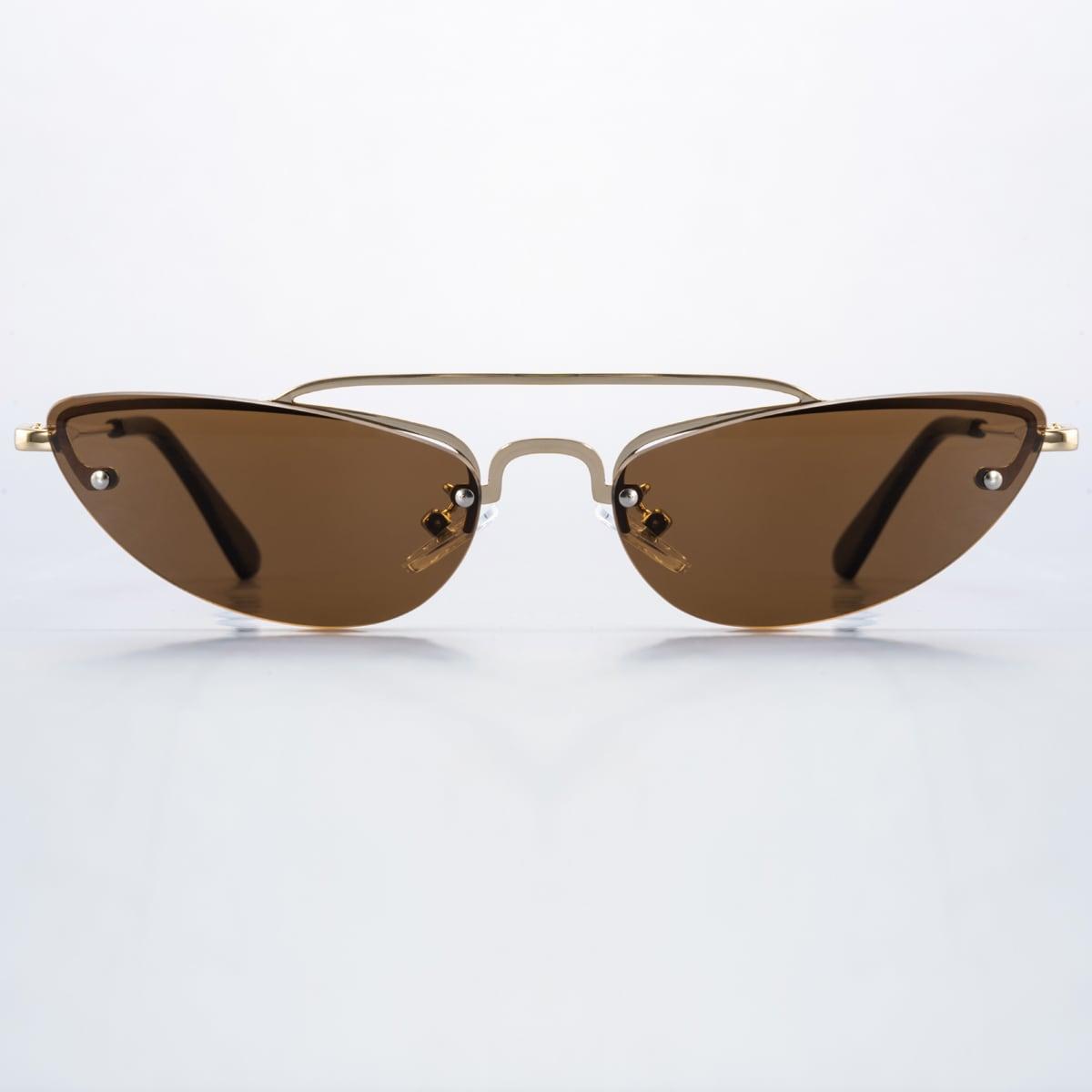 Солнцезащитные очки без оправы фото