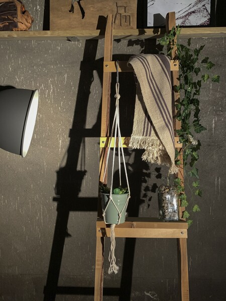 Woven Wall Hanging Plant Holder