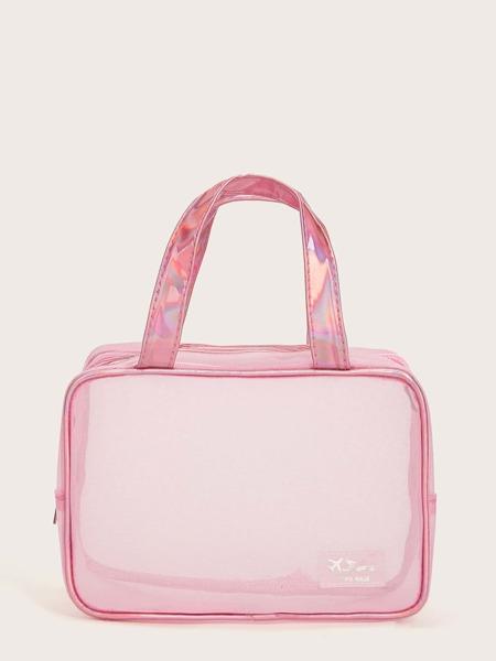 1pc Mesh Makeup Bag
