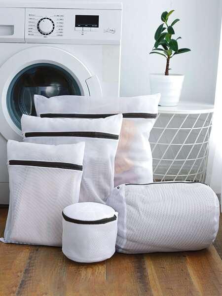 5pcs Mesh Laundry Bag Set