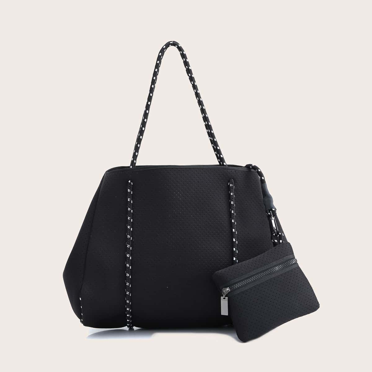 Large Capacity Tote Bag With Purse (swbag18200805049) photo