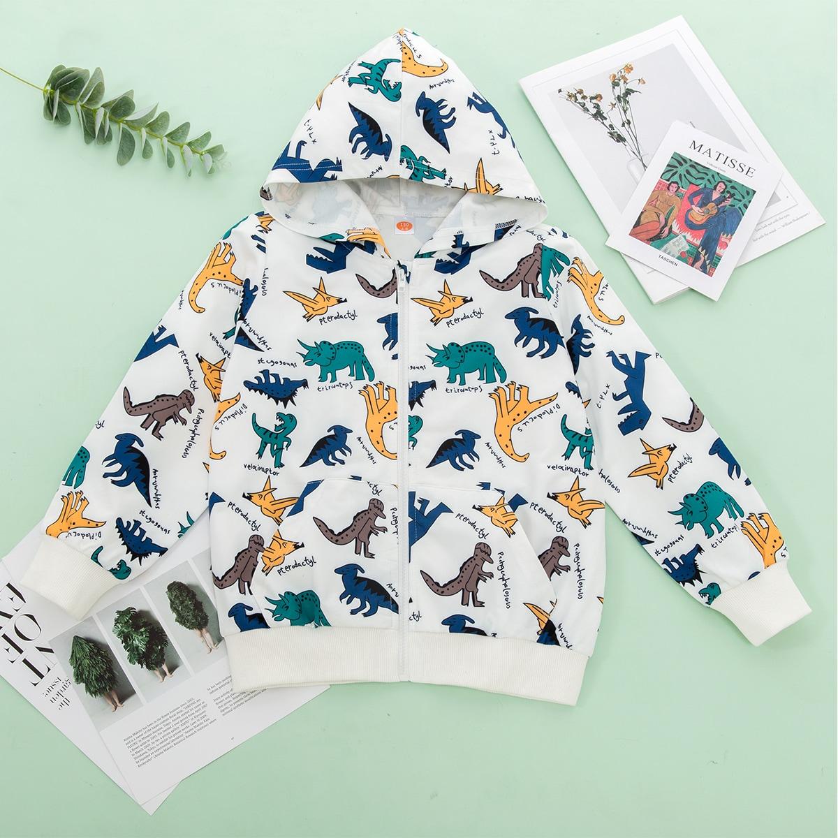 SHEIN / Reißverschluss  Cartoons  Lässig Mädchen T-Shirts und Tanktops