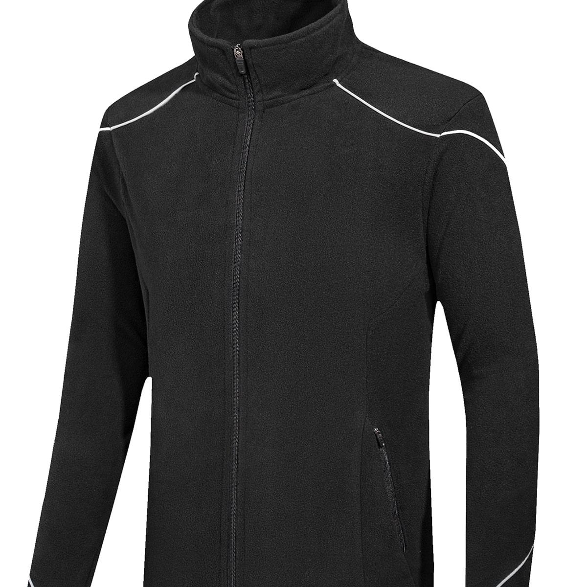 Мужская флисовая спортивная куртка